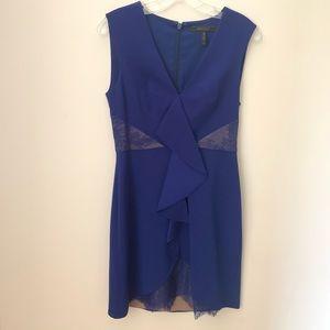 Royal blue BCBG dress